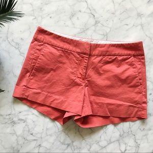 J Crew Coral Chino Shorts - 2